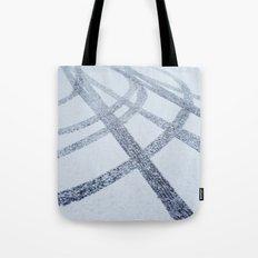 Tracks in the Snow Tote Bag