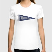 ravenclaw T-shirts featuring Ravenclaw 1948 Vintage Pennant by Andy Pitts