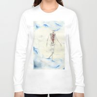 titan Long Sleeve T-shirts featuring Titan by Sandra Grippi