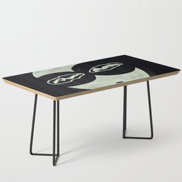 ONO FACE BLACK BACKGROUND Coffee Table