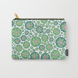 Peyote cactus plant pattern illustration Carry-All Pouch