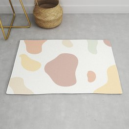 Moo patches - Honeycomb colour series  Rug