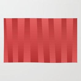 Red gradient Rug