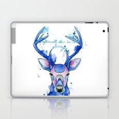 Always. Harry Potter patronus. Laptop & iPad Skin