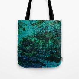 Flora Celeste Kyanite Aqua Aura Tree Texture  Tote Bag