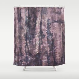 faded and frayed Shower Curtain