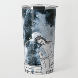 The moon hug. Travel Mug