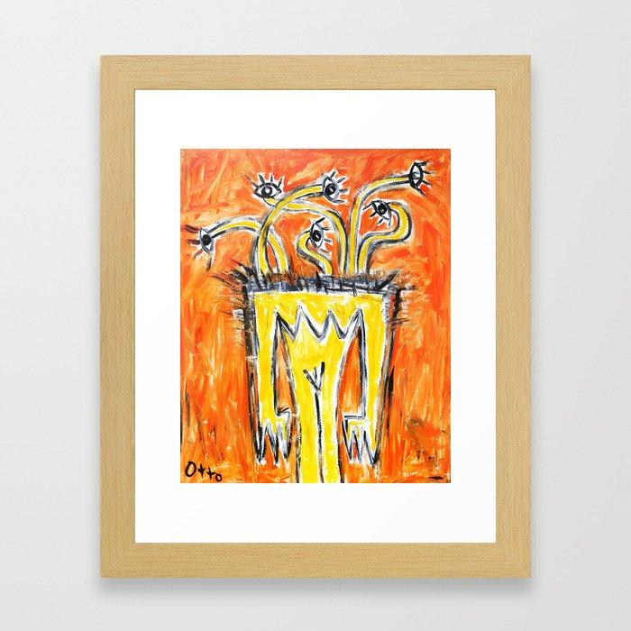 Za Videdí by Johnny Otto Framed Art Print