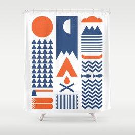 Simplify Shower Curtain