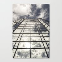 mirror Canvas Prints featuring Mirror by Mark Spence