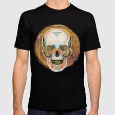 Another Skull MEDIUM Black Mens Fitted Tee