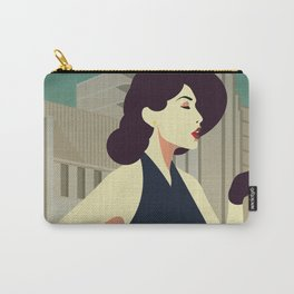 Girl Retro Style 11 Carry-All Pouch