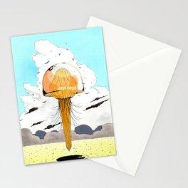 Méduse volante #4 Stationery Cards