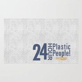 24 Hour Plastic People Rug