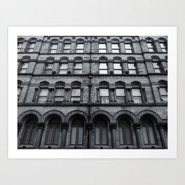 victorian industrial palazzo Art Print