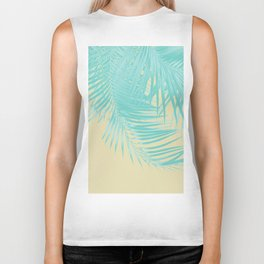 Palm Leaves Summer Vibes #12 #tropical #decor #art #society6 Biker Tank