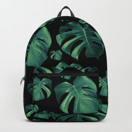 Tropical Monstera Pattern #4 #tropical #decor #art #society6 Backpack