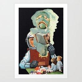 Your Friendly Neighborhood Poltergeist Art Print