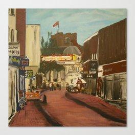 George Street, Tamworth Canvas Print