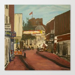 George Street, Tamworth Canvas Print