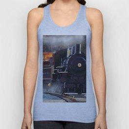 The Rail Yard  -  Steam Train Unisex Tank Top