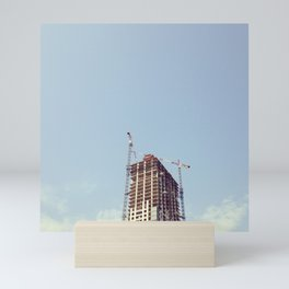 #322 A time to tear down and a time to build up Mini Art Print