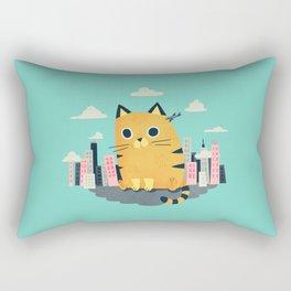 Catzilla Rectangular Pillow