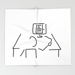 editor technical author script writer Throw Blanket