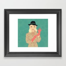 Odette Framed Art Print