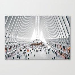 the oculus new york city Canvas Print