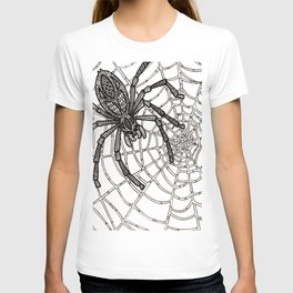 Jewelled Spider T-shirt
