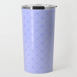 RED VELVET WENDY BLUE LOGO A Travel Mug