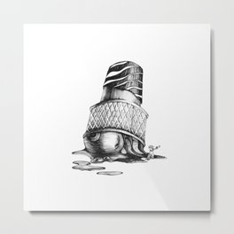 Little prince space ice cream Metal Print