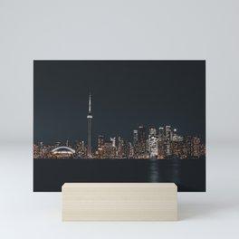 Silver Toronto Mini Art Print