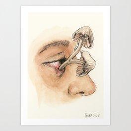 Ocular Bloom Art Print