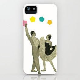 Throwing Shapes on the Dance Floor iPhone Case