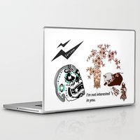 sarcasm Laptop & iPad Skins featuring Sarcasm by NENE W