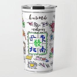 How to make Mahjong? Travel Mug