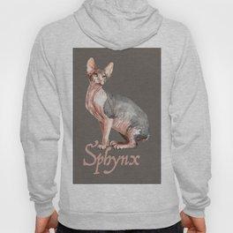 Sphynx watercolour Cat Hoody