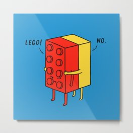 Le go! No Metal Print