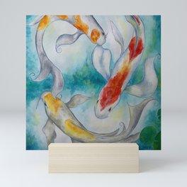 Fire Koi Mini Art Print