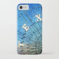 texas iPhone & iPod Cases featuring Texas by Slight Clutter
