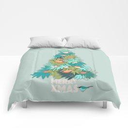 Tropical Xmas Comforters