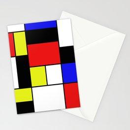 Mondrian #21 Stationery Cards