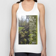 Convinced of Too Little Unisex Tank Top