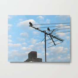 birds eye view! ~ sky and clouds Metal Print