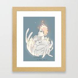 Love Burns Framed Art Print