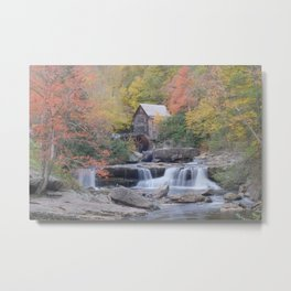 Almost Heaven Grist Mill Metal Print