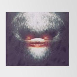Furry Smile Throw Blanket