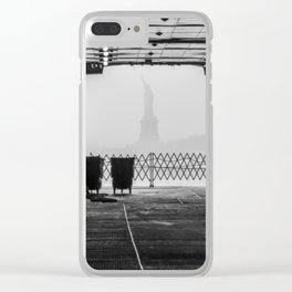 "Liberty thru ""The Boat"" Clear iPhone Case"